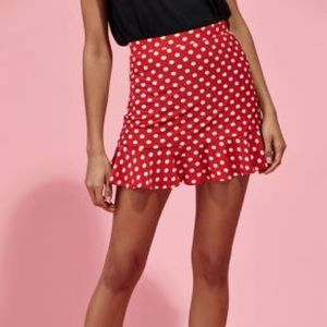 Kendall & Kylie Valentines Collection Skirt